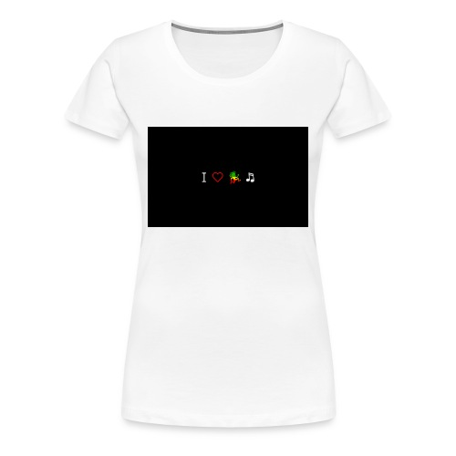 i love reggae music - Women's Premium T-Shirt