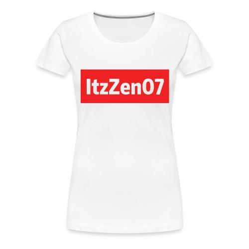 ItzZen07 Red Logo - Women's Premium T-Shirt
