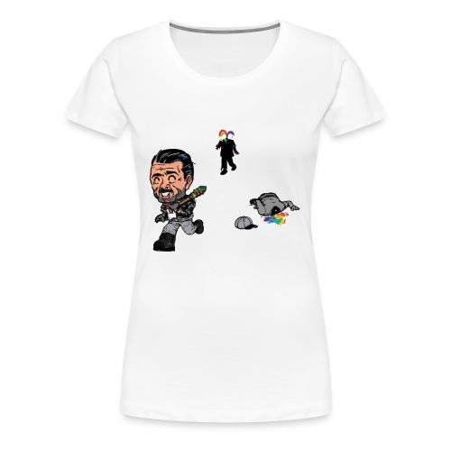 Negan Spreading Rainbow - Women's Premium T-Shirt