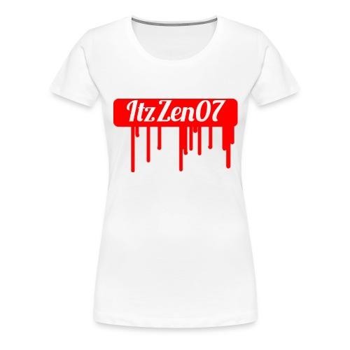 LIMITED TIME ItzZen07 Dripping Blood Halloween - Women's Premium T-Shirt