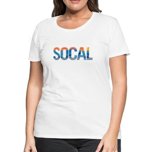 SOCAL Southern California Pride Illustration - Women's Premium T-Shirt