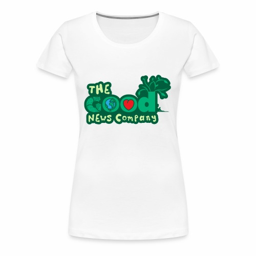 The GOOD News logo - Women's Premium T-Shirt