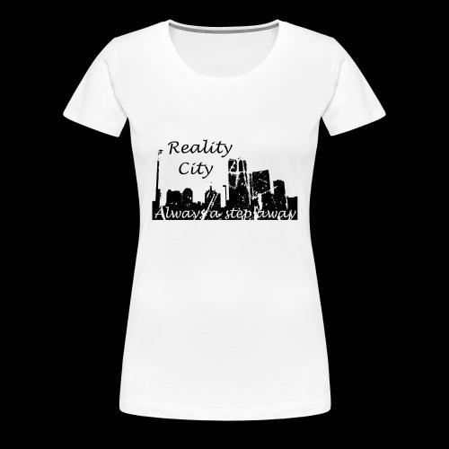 Reality City - light - Women's Premium T-Shirt