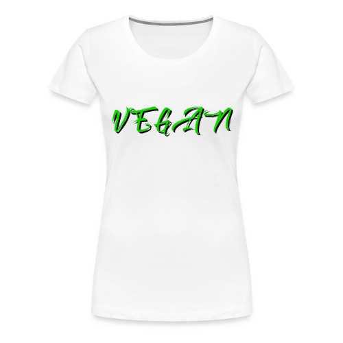 Vegan - Women's Premium T-Shirt