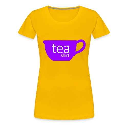 Tea Shirt Simple But Purple - Women's Premium T-Shirt