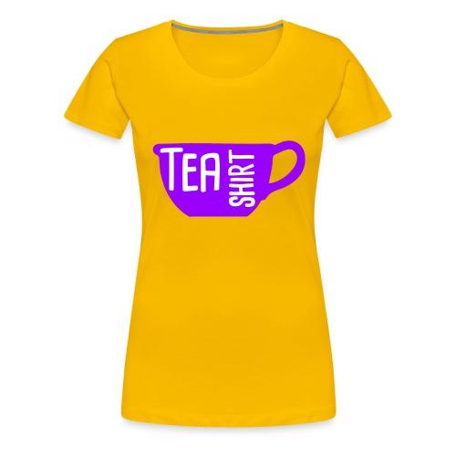 Tea Shirt Purple Power of Tea - Women's Premium T-Shirt