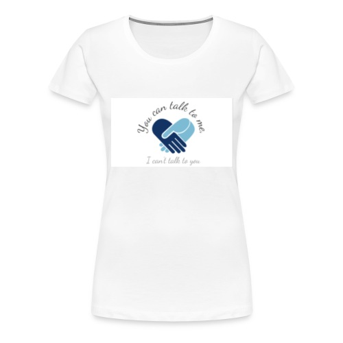Selective Mutism Whose Choice Logo - Women's Premium T-Shirt