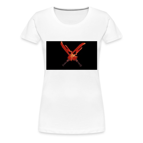 Hipixel Warlords Cross-Swords - Women's Premium T-Shirt