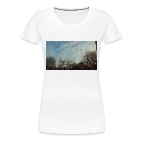jersery winter sky - Women's Premium T-Shirt