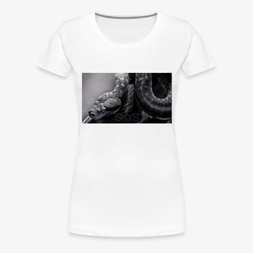 snake S - Women's Premium T-Shirt