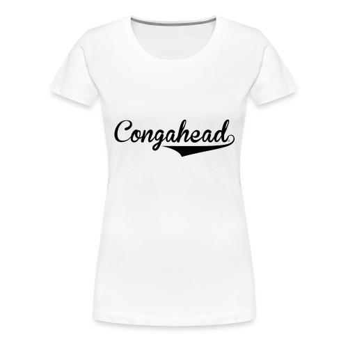 Congahead Baseball - Women's Premium T-Shirt
