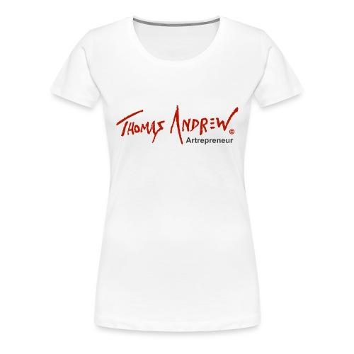 Thomas Andrew Artrepreneur - Women's Premium T-Shirt
