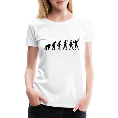 Evolution of Zyzz - Women's Premium T-Shirt