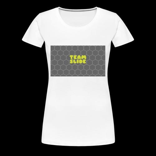 TEAM SLIDE - Women's Premium T-Shirt