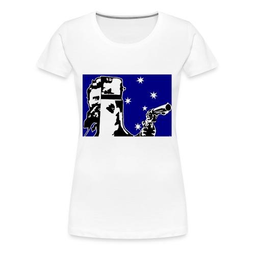 NED KELLY - Women's Premium T-Shirt