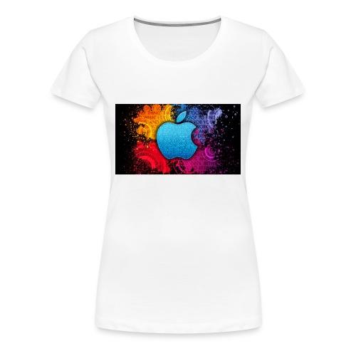 apple - Women's Premium T-Shirt