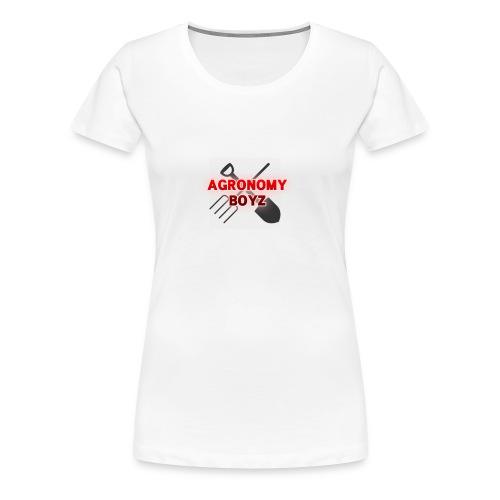 Agronomy Boyz - Women's Premium T-Shirt