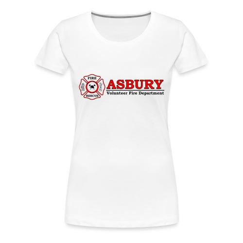 AsburyVFD Logo - Women's Premium T-Shirt