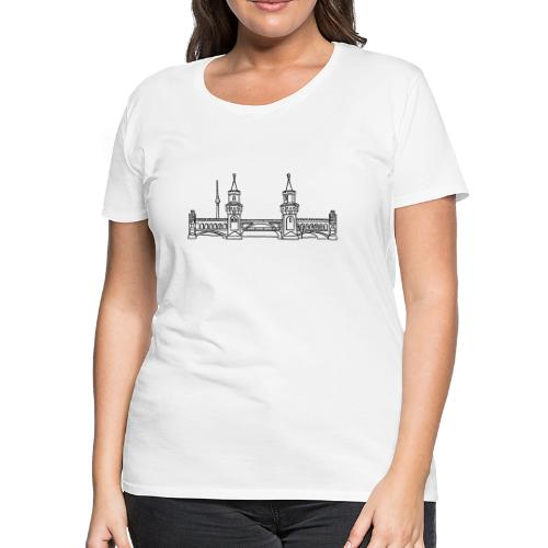Oberbaum Bridge in Berlin - Women's Premium T-Shirt