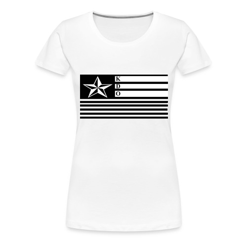 KDO Official Flag T-Shirts - Women's Premium T-Shirt