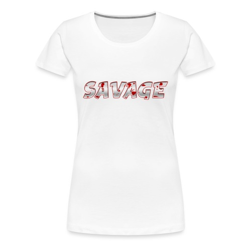 Savage Bloody - Women's Premium T-Shirt