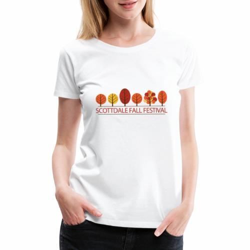 Scottdale Fall Festival Logo - Women's Premium T-Shirt