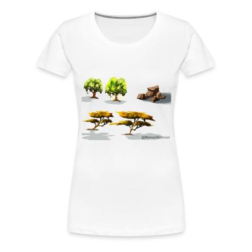 Naturelle - Women's Premium T-Shirt