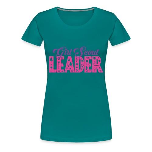 Girl Scout Leader - Women's Premium T-Shirt