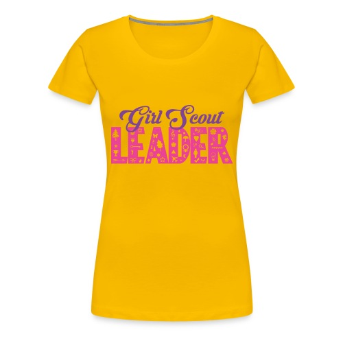 Girl Scout Leader - Women's Premium T-Shirt