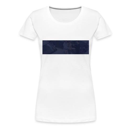 footer bg - Women's Premium T-Shirt