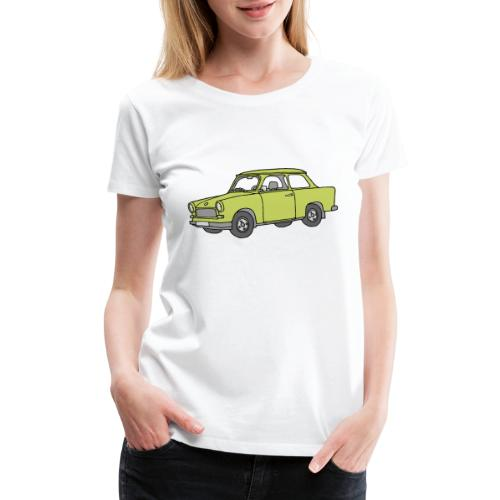 Trabant (baligreen car) - Women's Premium T-Shirt