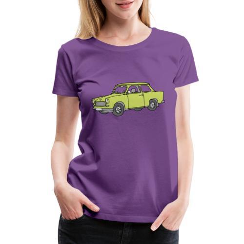 Trabant (baligreen car) - Women's Premium T-Shirt