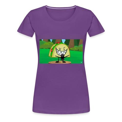 EVIL TACO ha - Women's Premium T-Shirt