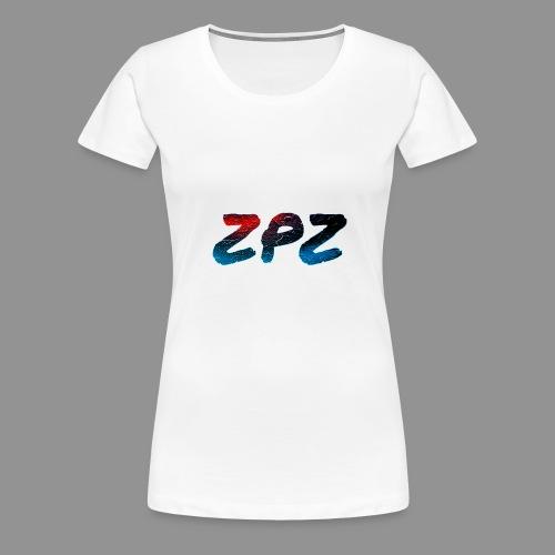 ZPZ GALEXY LOGO - Women's Premium T-Shirt