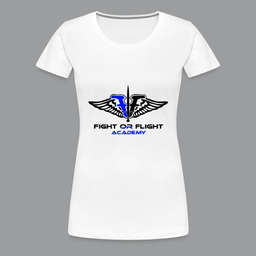 Fight or Flight Academy Logo - Women's Premium T-Shirt
