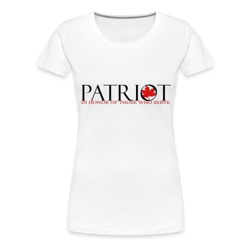 CDN PATRIOT_LOGO_1 - Women's Premium T-Shirt