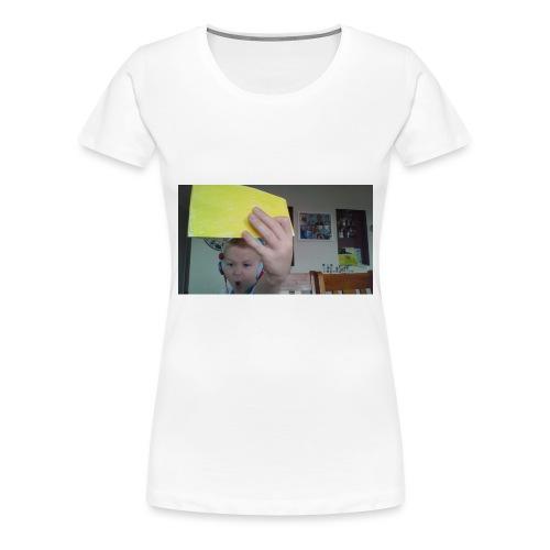 the paper golden shirt - Women's Premium T-Shirt