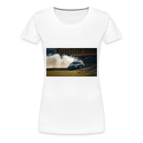 nissan skyline gtr drift r34 96268 1280x720 - Women's Premium T-Shirt