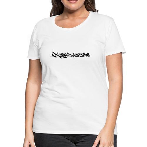 Graffiti style - Women's Premium T-Shirt