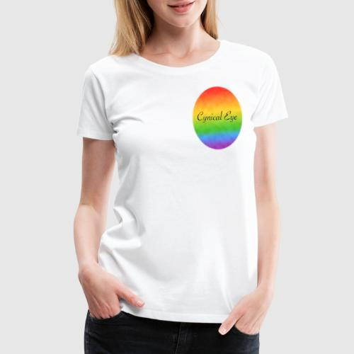 Cynical Eye Smudge - Women's Premium T-Shirt