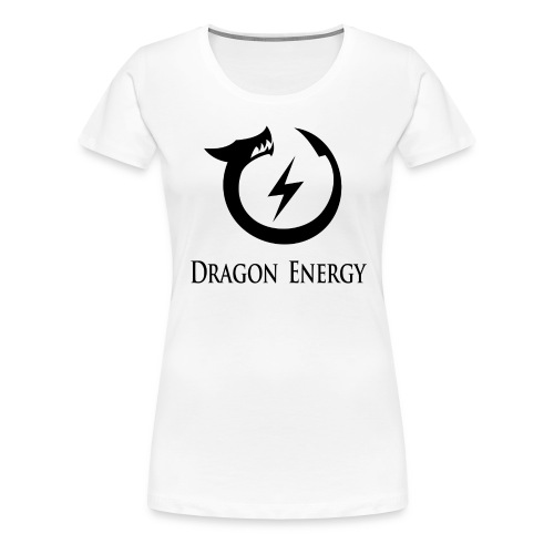 Dragon Energy (black graphic) - Women's Premium T-Shirt