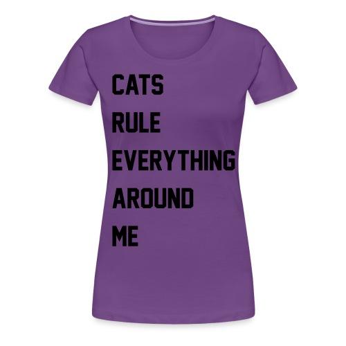 C.R.E.A.M. - Women's Premium T-Shirt
