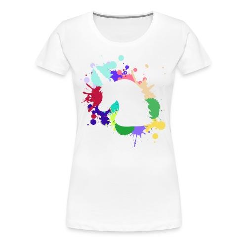 Unicorn Design - Women's Premium T-Shirt