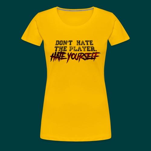 DHTPHY (WHT) - Women's Premium T-Shirt