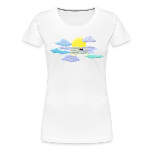 Sea of Clouds - Women's Premium T-Shirt