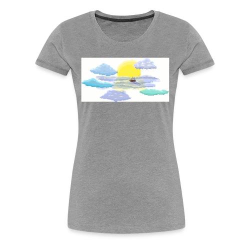 Sea of Clouds - Women's Premium T-Shirt