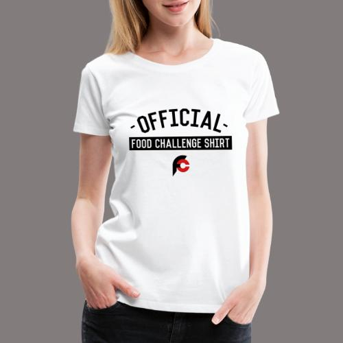 Official Food Challenge Shirt 2 - Women's Premium T-Shirt