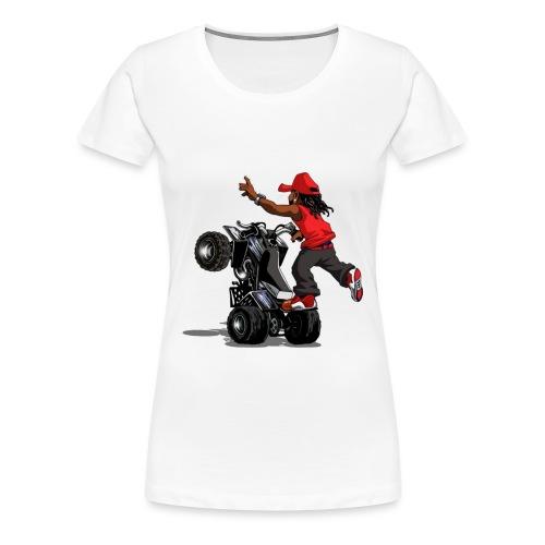 yamaha banshee stunt - Women's Premium T-Shirt