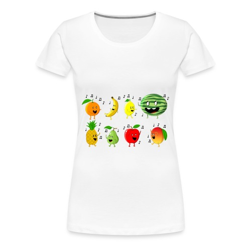 Dancing Fruit Party - Women's Premium T-Shirt