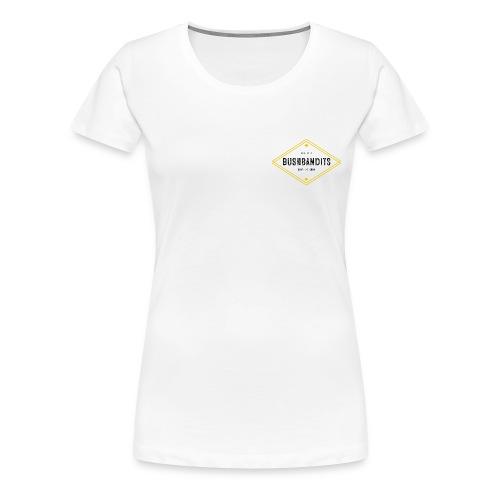 BushBandits White - Women's Premium T-Shirt